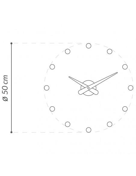 Merlin 12 i clock - Nomon Wall Clocks
